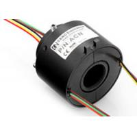 6 - Circuit Through Bore Slip Ring 0-300rpm Under 50 Mbps For Package Equipment Manufactures