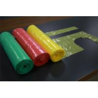 China Disposable Polythene Aprons Packing On Rolls For Beauty Salon / Home Cleaning on sale