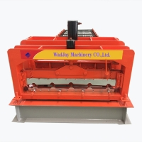 China Double Layer Roof Sheet Roll Forming Machine Price Shutter Rolling Forming Machine on sale