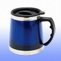 Stable Plastic Mug with 500ml Capacity Manufactures
