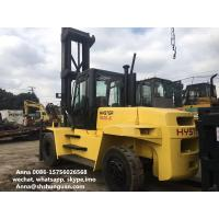 Hyster 16ton Used Forklift , Diesel Hyster H16.00XM-6 16t Forklift Manufactures