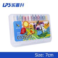 110Mm Oil Short Twisters Crayons For Toddlers Painting Tools 24 Colors Manufactures