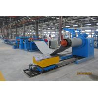 CNC Steel Coil Straightening Machines , Heavy Sheet Metal Coil Cutting Machine Manufactures