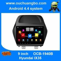 China Ouchuangbo Quad Core 16G HD 800*480 free shipping for Hyundai IX35 car navi dvd player android 4.4 system on sale