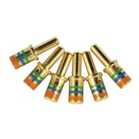 Buy cheap Copper Alloy Electrical Contact Pins , Mil Spec Contacts Size 12 from wholesalers