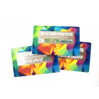 Color Printed Stainless Steel Metal ID Card With Laser Cut Logo 85x54x0.5mm Manufactures