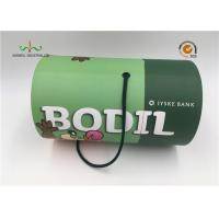 Quality Luxury custom designed recyclable rigid cardboard round cylinder for wine for sale