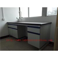Resistant To  strongest Corrosion /  Acid / Alkali 3000 mm Blue  Science Computer Lab  Furniture  Designs  For  Laborato Manufactures