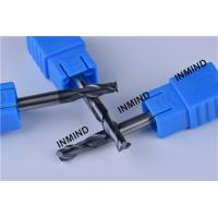 2.5mm 2 Flute end mill , HRC50 AlTiN Coating , Square End Mill , Grain Size 0.8UM ,  CNC cutting tools Manufactures