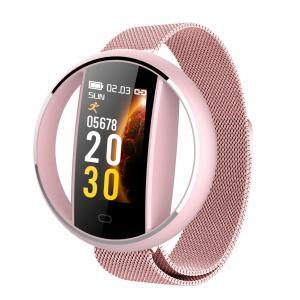 E99-2 Mesh Stainless Steel Band Smart Watch Multifunctional Sport LED Digital Bracelet Manufactures