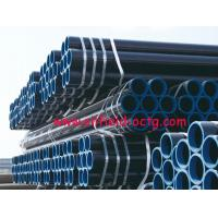 api steel line pipe API 5L ASTM A53 A106 WITH BLACK COATING BEVELLED ENDS AND CAPS Manufactures