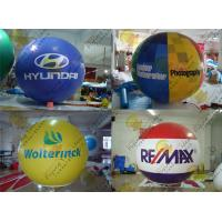 Quality 2.5m Thickness PVC Large Inflatable Balloons Fire Resistance For Outdoor Decorations for sale