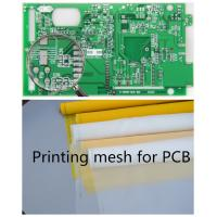 70-72 Mesh Monofilament Polyester Screen Printing Mesh In PCB Printed Circuit Boards Manufactures