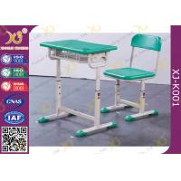 Buy cheap Durable Kid's School Desk And Chair PE Seat And Back Comfortable from wholesalers