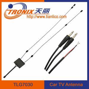 vhf uhf active car tv antenna/ glass mount car antenna/ car tv antenna TLG7030 Manufactures