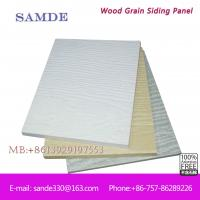 China Fiber Cement Villa Panel for Exterior Wall Cladding 3050*192*7.5/9mm on sale