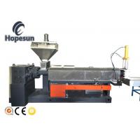 China Single Stage Plastic Granules Machine Siemens Contactor 200 Kg Per Hour on sale