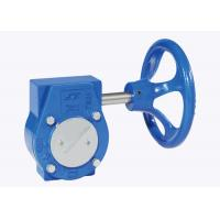 Single Stage Handwheel Gearbox Butterfly Valve  Nickel - Plated Input Shaft Manufactures