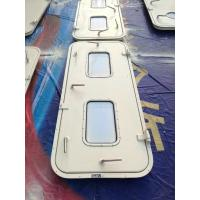 Marine Singe Leaf Aluminum Weathertight Door With Stainless Steel Accessories Manufactures