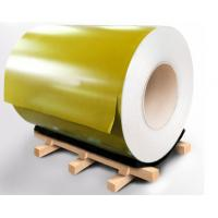 O-H112 Temper Prepainted Color Coated Aluminium Coil For Composite Panel Manufactures