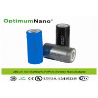 32650 / 22650 / 26650 Charging Lithium Deep Cycle Battery with LiFePO4 Raw Material Manufactures