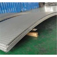 Grade 201 304 Stainless Steel Diamond Plate 2.0 - 8.0mm Width 1500mm Manufactures