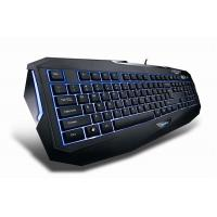 Green LED light up computer multimedia gaming keyboard for ipad game keyboard Manufactures