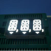 White Triple Digit 14 Segment LED Display for Digital Indicators Manufactures
