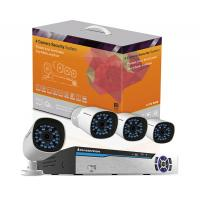 Newest Power line communication 4CH 720P NVR Kit no need connect with network cables Manufactures