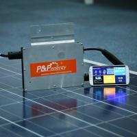 China P&P ENERGY high quality industrial application suit for 200-300w solar panel micro inverter(PMI-250W) on sale