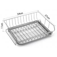 Modern Steel Rust Proof Metal Kitchen Accessories Dish Drying Rack Drain Board Manufactures