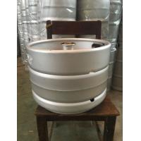 Buy cheap Stainless steel beer keg 20L capacity, with A type fitting automatic TIG welding from wholesalers