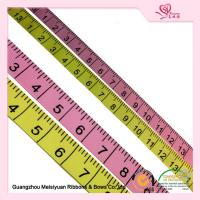 Beautiful 20mm Custom Printed Grosgrain Ribbon Ruler double face Ribbon