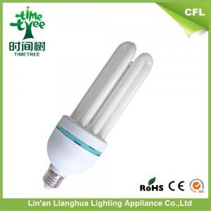 E27 3U Shaped Compact Fluorescent Light Bulbs 18W 12mm Energy Saving Bulb Manufactures