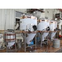 1500L Conical Beer Fermenter , Stainless Steel Fermentation Tanks Manufactures