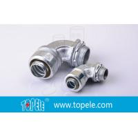 Zinc Plated Malleable Flexible Conduit And Fittings Connector Manufactures