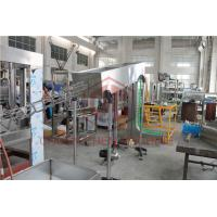 China Volumetric Liquid Filling Capping And Labeling Machine Linear Filling Type on sale
