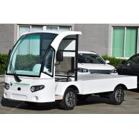 Quality 4kW Electric Battery Powered Utility Vehicles , Flatbed Utility Cart For for sale