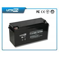 Maintenance Free 12V 100ah Sealed Lead Acid Batteries For telecommunications systems Manufactures