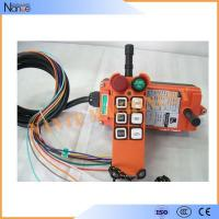 Single speed Wireless Hoist Remote Control Radio Crane Controller F21-E1 Manufactures