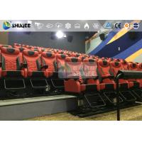 360 Degree Screen Large 4D Movie Theater With 30 Electronic Cinema Chair Manufactures