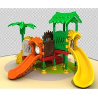 China Customized All Plastic Kids Outdoor Play Equipment Easy To Install TQ-QS1274 on sale