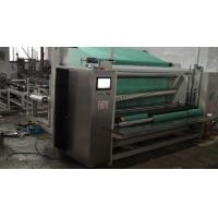 Large High Speed Non Woven Fabric Cutting Machine With Circular Knife Cutting Manufactures