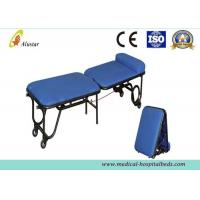 China Steel Hospital Furniture Accompany Chair Medical Folding Chair With Castors And Pillow (ALS-C03) on sale