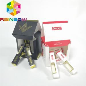 China Custom New Cardboard Kraft Paper Cosmetic Boxes Luxury 30ml Perfume Oil Dropper Bottle Packaging Box on sale