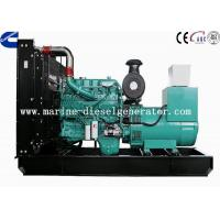 Water Cooling Cummins Diesel Generator 250KW By Electronic Governor Manufactures