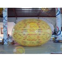 customized Inflatable helium fruit product balloon, including 4m Watermelon / cherry / apple for sales promotion Manufactures