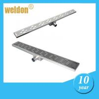 Stainless Steel 304 or 316L Linear channel shower Drains for bathroom Manufactures