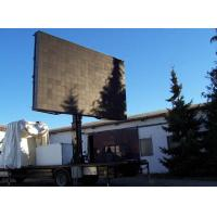 P16 outdoor full color LED electronic signs for businesses , 100-240V / 50-60HZ Manufactures