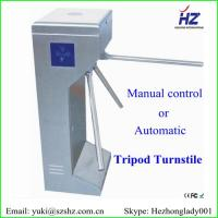 China Customized optional pedestrian electronic tripod turnstile barrier gate on sale